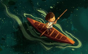 Hai họa sĩ trẻ Việt Nam tham dự ra mắt sách minh họa The First Journey tại Singapore