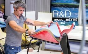 Hoạt động R&D, bước khởi tạo của cuộc cách mạng nội thất đầy cảm hứng từ B&B Italia