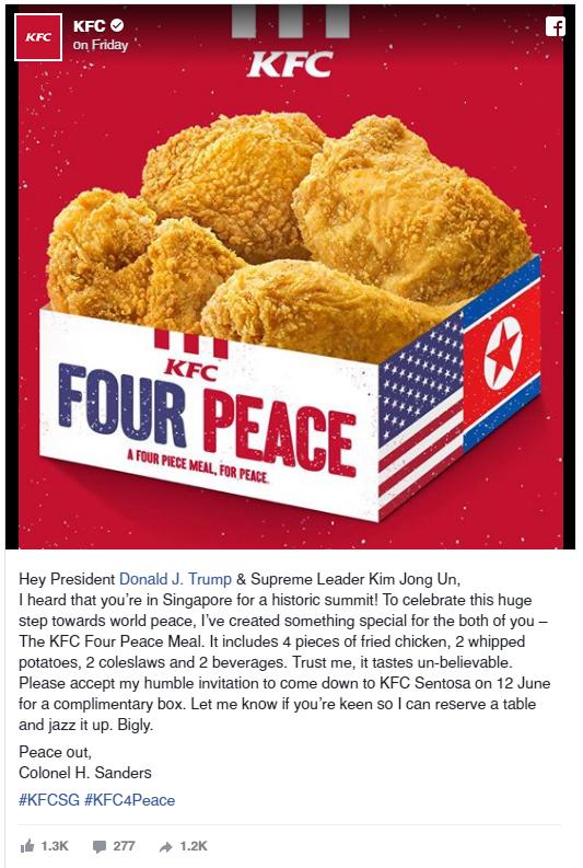 rgb_creative_ideas_design_kfc_four_peace_donald_trump