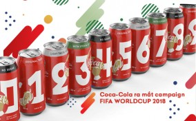 """Coca-Cola tung chiến dịch World Cup 2018 với thiết kế lon """"tỉ số"""" để fan chia sẻ dự đoán bàn thắng"""