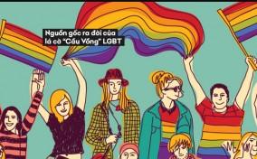 """Nguồn gốc ra đời của lá cờ """"Cầu Vồng"""" LGBT qua những câu chuyện đầy cảm hứng"""