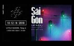 """Dự án Triển lãm """"Sài Gòn có mưa"""": Khi người Sài Gòn kể chuyện bằng những cơn mưa."""