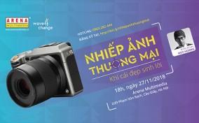 Workshop: Nhiếp ảnh thương mại tại Hà Nội