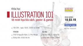 [HCM & HN-18.03] Illustration 101: Vẽ Minh họa cho Bìa sách, Poster và Games