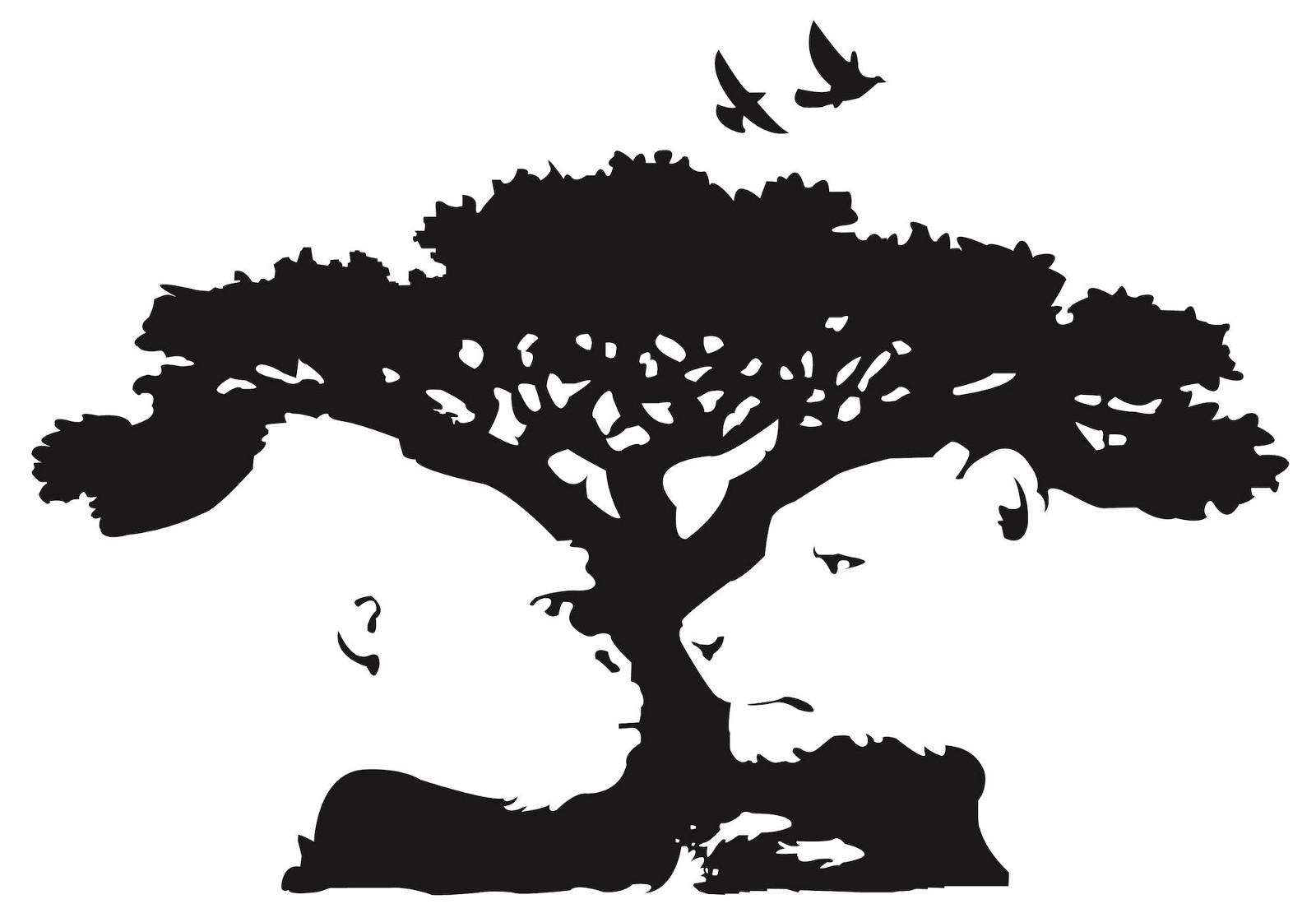 Có phải bạn nhìn thấy được cả 2 bức tranh: 1 là hình ảnh cây với vài chú chim; 2 là con sư tử và khỉ đột đang nhìn chằm chằm nhau đúng không? (Logo của vườn bách thú Pittsburgh Zoo & PPG Aquarium)