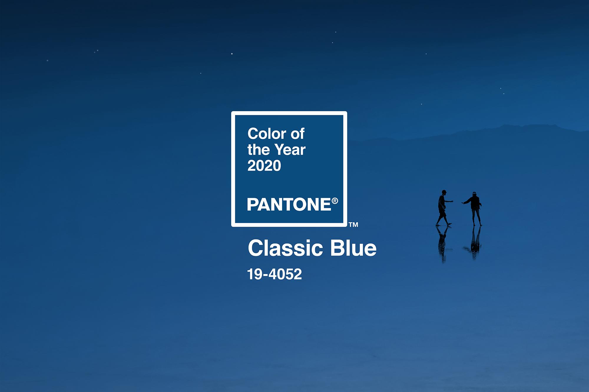Classic Blue - Màu của năm 2020 vừa được Pantone công bố - RGB.vn