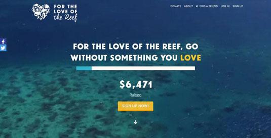 Bản quyền hình ảnh của For the Love of the Reef