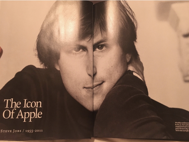 Tội nghiệp Steve Jobs nhìn hơi tệ trong bài báo này